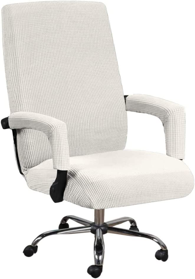 Houston Mall VIENLOVE Office Sale Chair Covers Polyester Furniture Prot Blend Soft