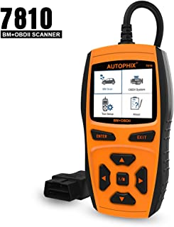 AUTOPHIX 7810 Obd2 Code Reader Scan for BM ABS Airbag CBS SAS Adaptations EPB Battery Learning Valvetronic and Other Engine System