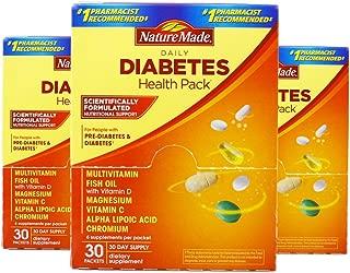 Nature Made 莱萃美 糖尿健康包营养维生素 30包 (3盒)