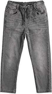 IDO Pantalón estilo vaquero pero de sudadera de color gris