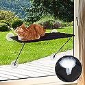 Enkrio 100% Metal Frame Cat Perch Window Hammocks