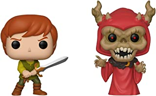 Funko Pop Disney: Black Cauldron - Taran & Horned King 2 Pack, Summer Convention, Amazon Exclusive