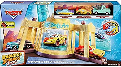 Disney Cars Radiator Springs Classic Ramone's Color Change 1:55 Gift Pack (Mattel Toys)