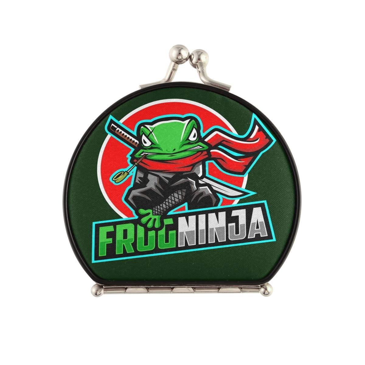 National Ranking TOP4 uniform free shipping Frog Ninja Sword Compact Travel Cute Foldable Mirror Pocket Make