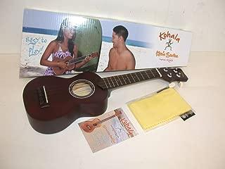 Kohala KO-S Kine'O Soprano Ukulele, Mahogany Body, Includes Instruction Booklet & TMS Polishing Cloth