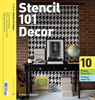 Wall Stencils 101: Customize Walls, Floors, and Furniture with Oversized Stencil Art by Ed Roth (3-Sep-2009) Paperback