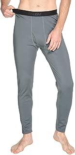 Men's Heavyweight Thermal Underwear Pants Fleece Lined Long Johns Baselayer Bottom