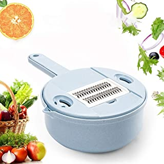 ZJZ Trancheuse à Légumes Professionnelle Multi-Usage, Sûr et Durable, Sans BPA, Convient pour Légumes, Fruits et Fromage