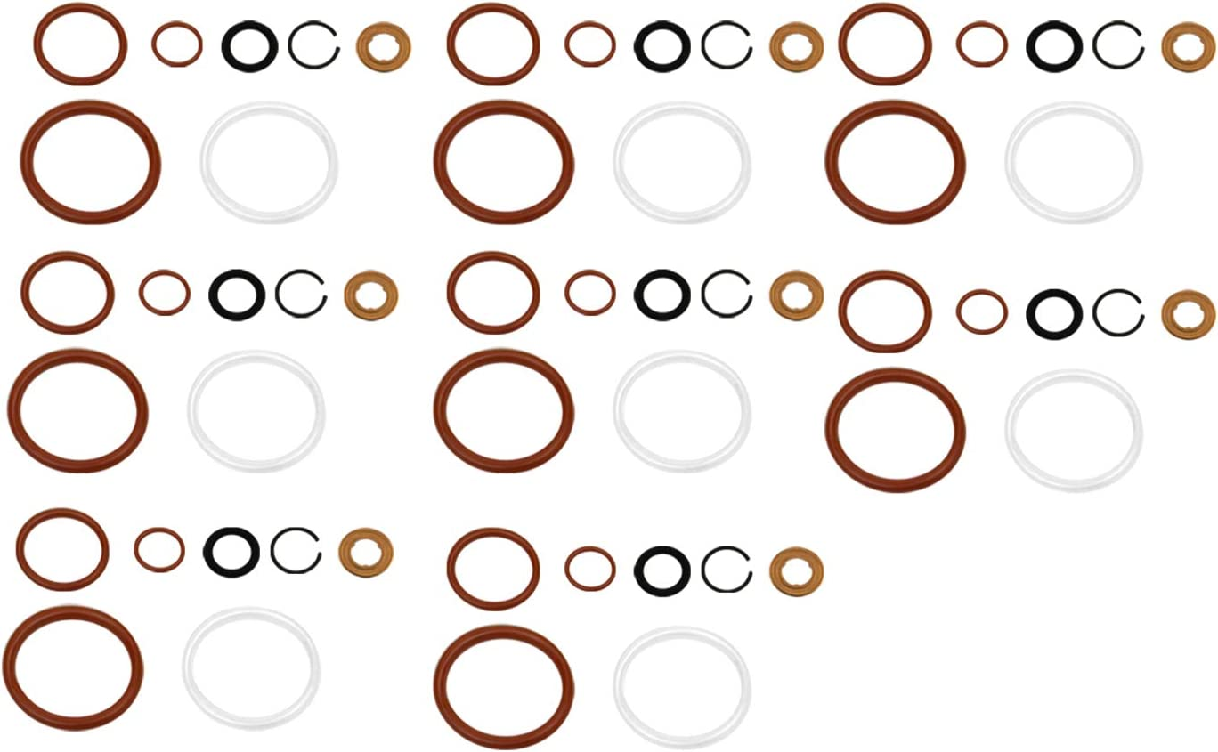 G2.8 Oklahoma City Mall Injector Seal Kit Compatible LCF Ford Powerstroke for 4.5L Popularity