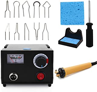 yosunl Wood Burner Pyrography Pen Burning Machine Gourd Crafts Tool Set With Welding Wire Top Adjustable Temperature
