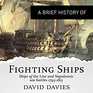 A Brief History of Fighting Ships  audiobook cover art