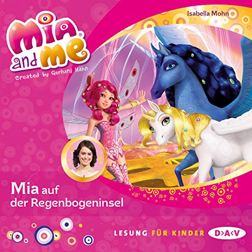 Mia auf der Regenbogeninsel cover art