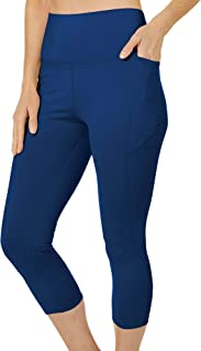 Reel Legends Womens Elite Comfort Geometric Capri Leggings