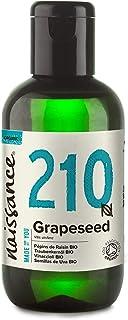 Naissance Semillas de Uva BIO - Aceite Vegetal Prensado en Frío 100% Puro - Certificado Ecológico - 100ml
