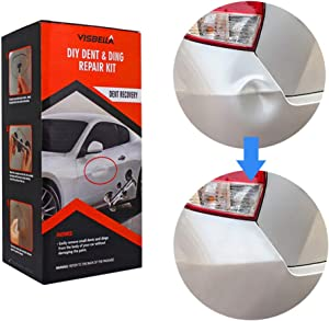 Visbella DIY Dent Repair Tool Car Dent Removal Kit Dent Bridge Puller Sets