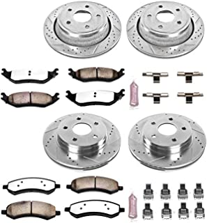 Power Stop K2164-36 Z36 Truck & Tow Front and Rear Brake Kit