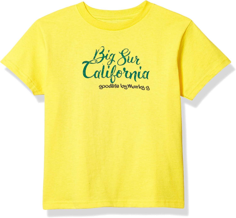 Marky G Apparel Boys' Printed Big Sur California Graphic Cotton Jersey T-Shirt