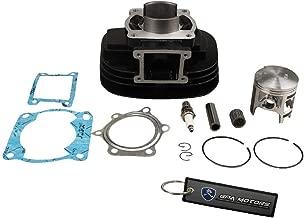 BLACKHORSE-RACING Fit for 1988-2006 Yamaha Blaster 200 YFS200 Cylinder Piston Gasket Air Filter Top End Kit Set