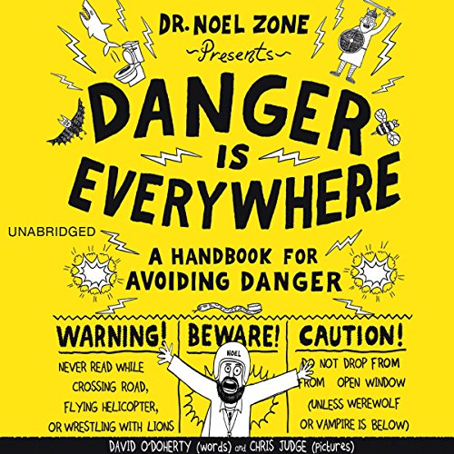 Danger Is Everywhere audiobook cover art