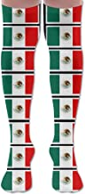 Coloring Pages Mexican Flag Printable Long Top Casual Over Knee Thigh High Socks Stocking