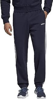 Adidas Men's Essentials 3-Stripes Fleece Pants, White (Legend Ink/white), 2X-Large (DU0450)