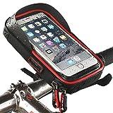 Wheelup imperméable à l'eau vélo vélo téléphone titulaire support vélo sac