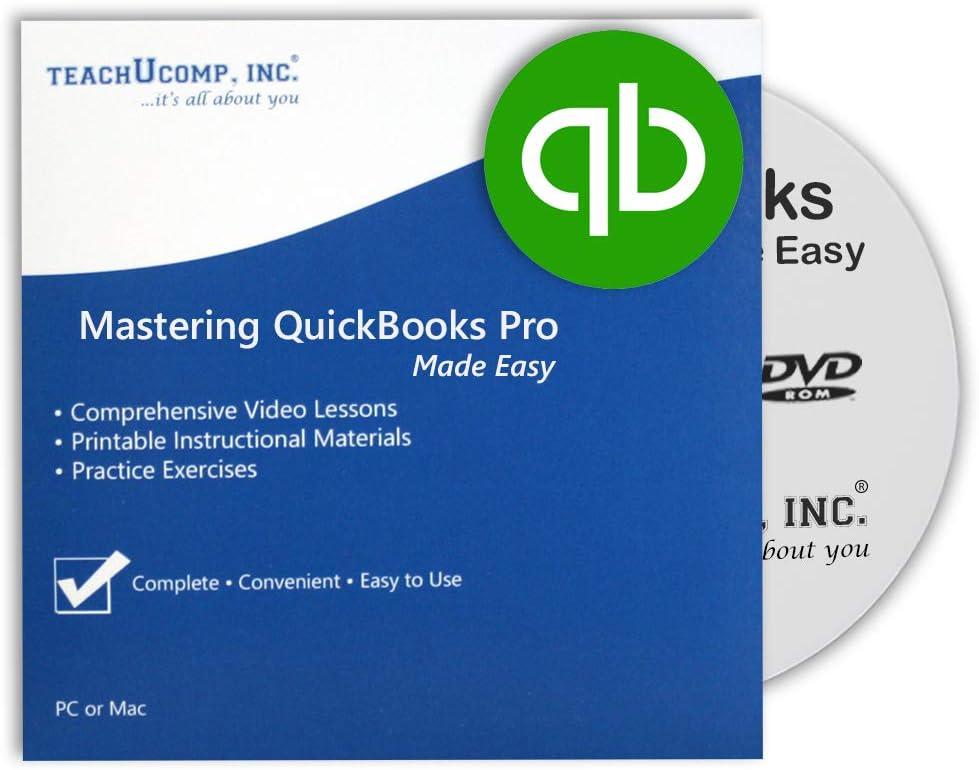 Time sale Learn QuickBooks Desktop shop Pro 2021 Training Video DVD-ROM Tutoria