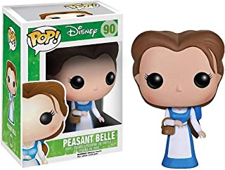 Funko Peasant Belle: Beauty & The Beast x POP! Disney Vinyl Figure & 1 POP! Compatible PET Plastic Graphical Protector Bundle [#090 / 04021 - B]