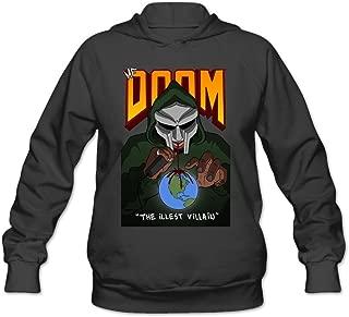 Women's MF 2016 Doom Logo Hoodie Black