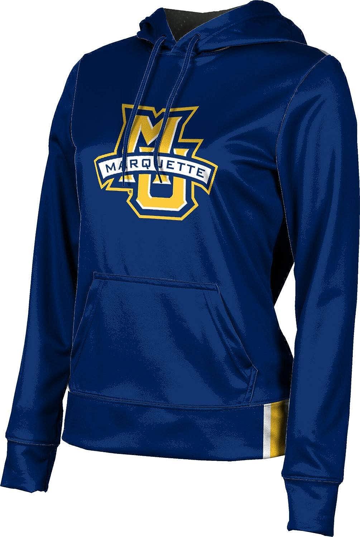 ProSphere Marquette University Girls' Pullover Hoodie, School Spirit Sweatshirt (Solid)