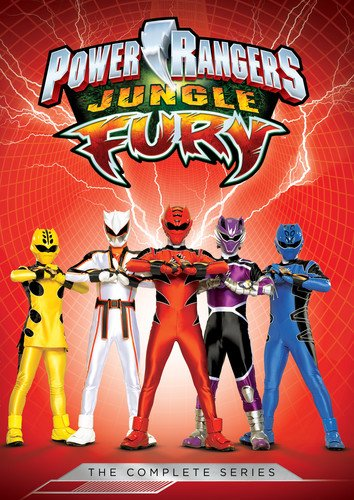 Power Rangers: Jungle Fury - Complete Series [Edizione: Stati Uniti] [Italia] [DVD]