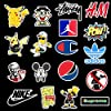 Sticker Pack Cool Stickers 100PCS, Durable, Waterproof, Aesthetic, Trendy Sticker Decals for Teens, Water Bottles Travel Case Sticker Door Laptop Luggage Car Bike Bicycle #4