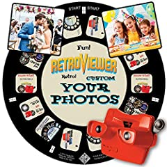 📸 WHAT YOU GET - 1 Red RetroViewer Viewfinder plus 1 Reel Gift Card with code to upload your Custom Reel. The gift card code will cover the cost of 1 Custom Reel (additional sales tax and shipping charges may apply). Additional Custom Reels are avail...