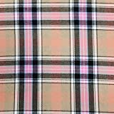 Panini Tessuti, Recortes de tela de tartán de 1 m x 145 cm – Fantasía escocesa ideal para creaciones de sastrería, camisas, faldas, kilt.