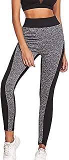 Gillberry Women's High Waist Leggings Workout Running Athletic Tummy Control Stretch Soft Capris Yoga Pants