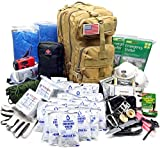EVERLIT Earthquake Emergency Kits Survival Kit 72 Hrs 2 Person Bug Out Bag for...