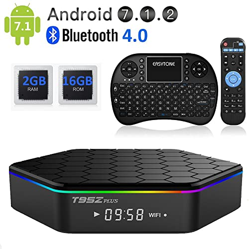 EASYTONE T95Z Plus Android TV Box,Octa Core Smart TV Box 2GB RAM 16GB ROM