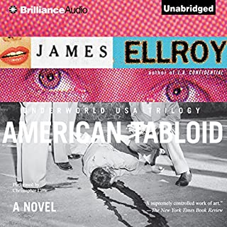 American Tabloid audiobook cover art