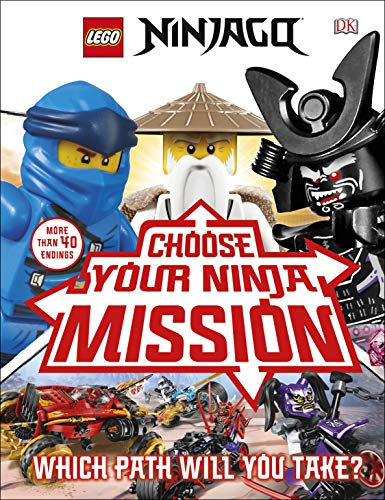LEGO NINJAGO Choose Your Ninja Mission: With NINJAGO Jay minifigure (English Edition)