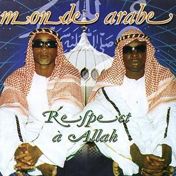Respect à Allah