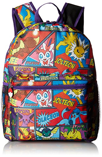 FAB Starpoint Boys' Multi Character Comic Strip 16' Backpack, 16'