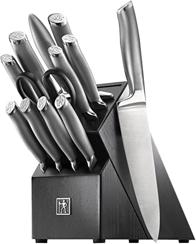 lowest HENCKELS discount J.A 2021 International Modernist 13-pc Knife Block Set, Black online sale