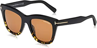 نظارات شمسية من توم فورد FT 0685 جولي 05E اسود/آخر/بني
