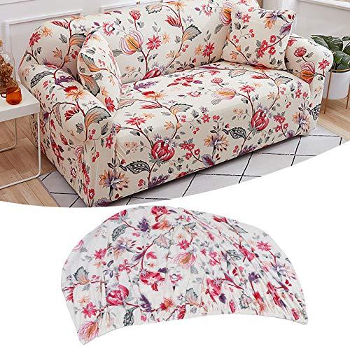 Wosune Funda para sofá, Funda para sofá Materiales de Fibra de poliéster Mano de Obra Fina con Tira Fija para sofá para el hogar y la Oficina(Individual)
