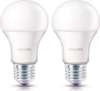 Philips Base E27 14-Watt Led Bulb (Pack Of 2, Golden Yellow)