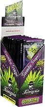 Kingpin Pure Hemp Wraps - Sealed Display Box - 100 (25 x 4) Hemp Wraps per Box - (Goomba Grape)