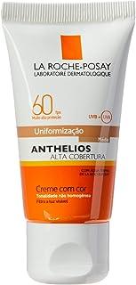 Protetor Solar La Roche-Posay - Anthelios Alta Cobertura com Cor FPS60 - Medio
