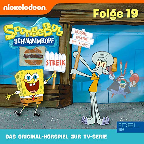 SpongeBob Schwammkopf 19. Das Original-Hörspiel zur TV-Serie Titelbild