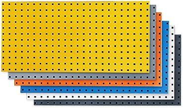 WH-IOE Panel para Herramientas de Metal Tableros de Clavijas de Acero de Ahorro de Almacenamiento Taller de 45 cm X 90 El ...