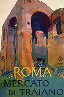 Roma Mercato di Traiano Italian Italy Vintage Travel Cool Wall Decor Art Print Poster 24x36